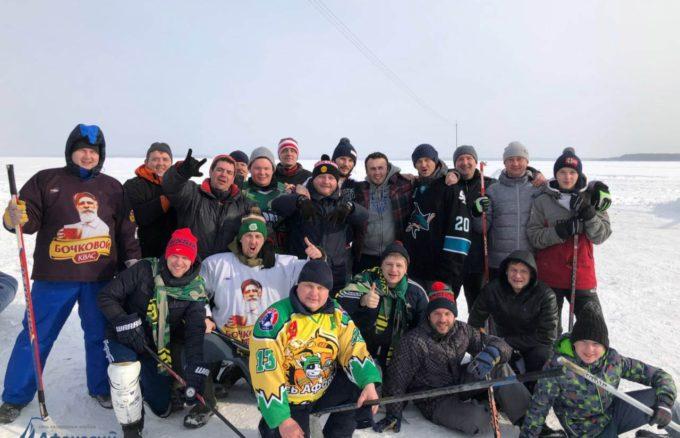 3 марта в Загородном клубе «Афанасий» прошел Первый открытый турнир по хоккею на валенках «Весьегонская классика»!